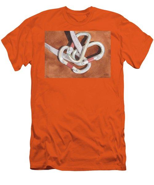 Carabiners Men's T-Shirt (Athletic Fit)