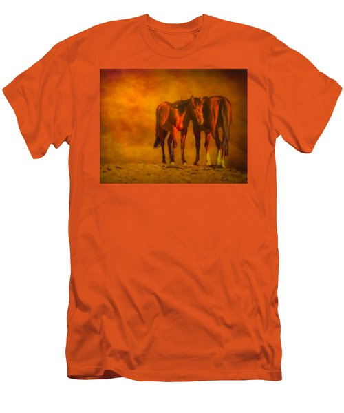 Catching The Last Sun Digital Painting Men's T-Shirt (Athletic Fit)