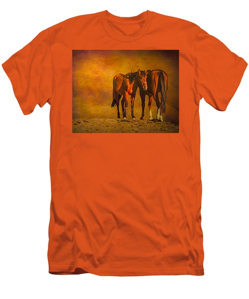 Catching The Last Sun Photoart Men's T-Shirt (Athletic Fit)