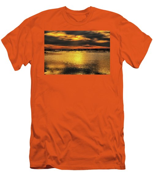 Men's T-Shirt (Slim Fit) featuring the photograph Ceader Key Florida  by Louis Ferreira
