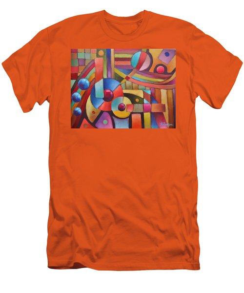 Cerebral Decor # 5 Men's T-Shirt (Athletic Fit)