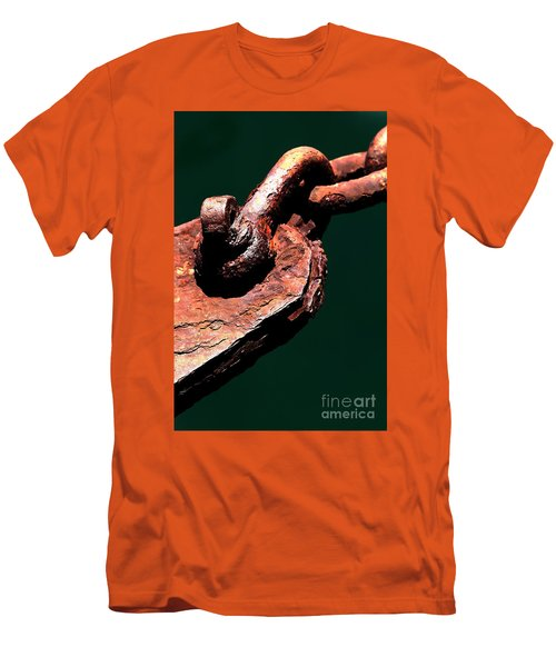 Men's T-Shirt (Slim Fit) featuring the photograph Chain Age II by Stephen Mitchell