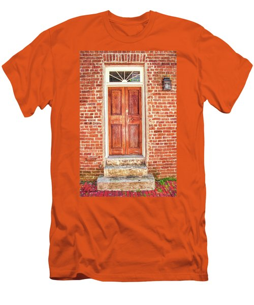 Charleston Doors 1 Men's T-Shirt (Athletic Fit)