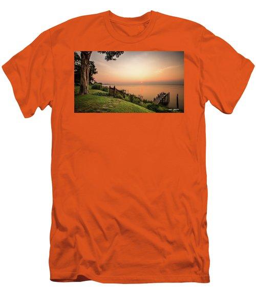 Chesapeake Morning Men's T-Shirt (Athletic Fit)