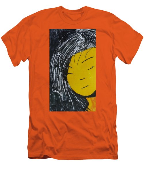 Chinese Japanese Girl Men's T-Shirt (Slim Fit) by Don Koester