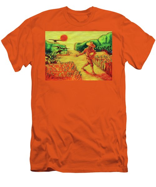 Christian Art Parable Of The Sower Artwork T Bertram Poole Men's T-Shirt (Athletic Fit)