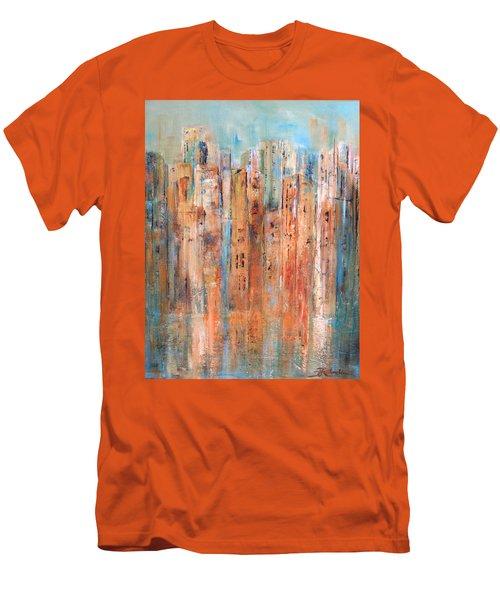 Cityscape #3 Men's T-Shirt (Athletic Fit)