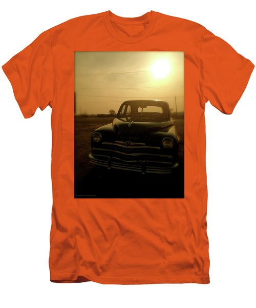 Classic America, Eight Men's T-Shirt (Slim Fit) by Iconic Images Art Gallery David Pucciarelli