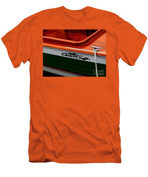Classic Chris Craft Sea Skiff Men's T-Shirt (Athletic Fit)