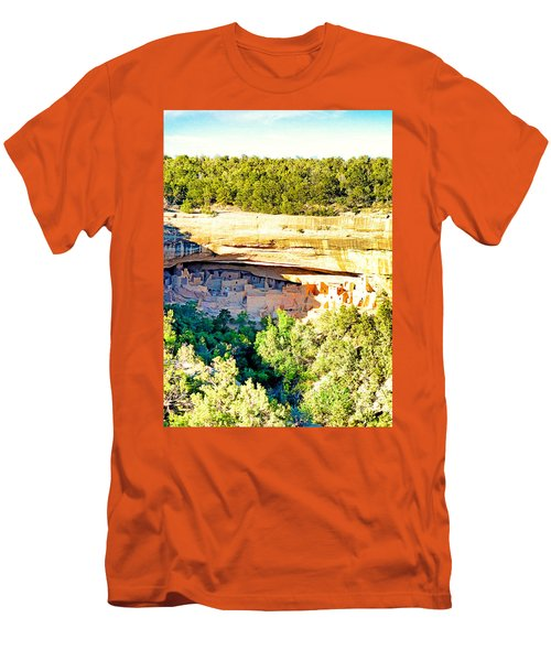 Cliff Palace Study 1 Men's T-Shirt (Athletic Fit)