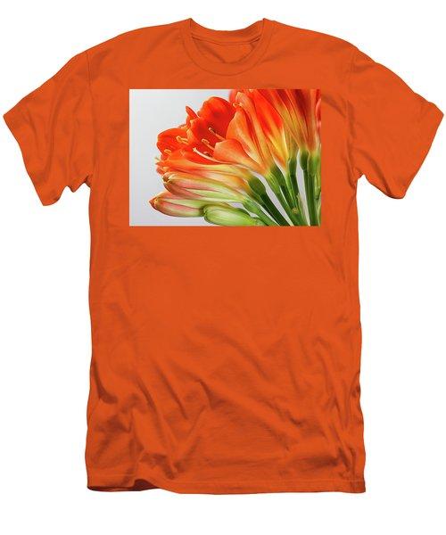 Clivia Miniata 2 Men's T-Shirt (Athletic Fit)
