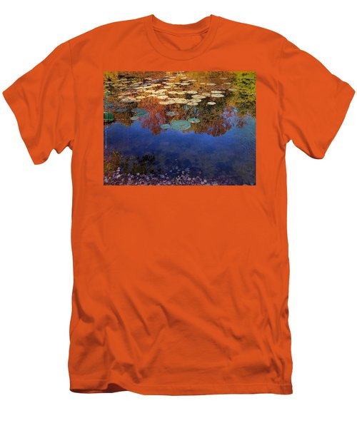 Close By The Lily Pond  Men's T-Shirt (Athletic Fit)