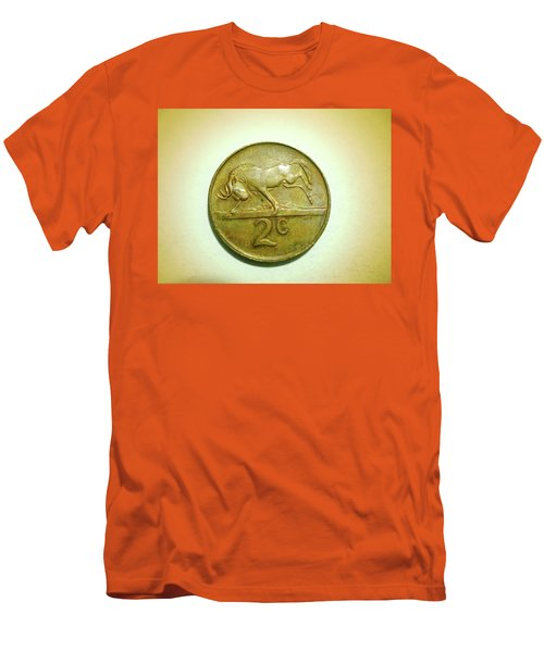 Men's T-Shirt (Slim Fit) featuring the photograph Coin Series -  by Beto Machado