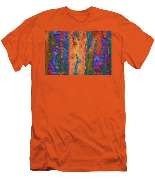 Men's T-Shirt (Slim Fit) featuring the photograph Color Abstraction Lxvi by David Gordon