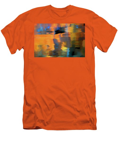 Men's T-Shirt (Slim Fit) featuring the photograph Color Abstraction Lxxii by David Gordon