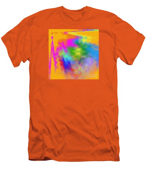 Color Towers Men's T-Shirt (Athletic Fit)
