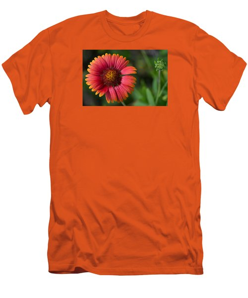 Colorful Indian Blanket Men's T-Shirt (Slim Fit) by Kenneth Albin