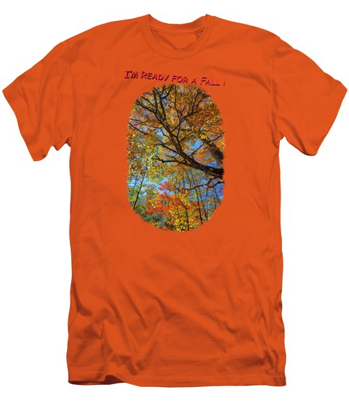 Colors On High 3 Men's T-Shirt (Slim Fit) by John M Bailey