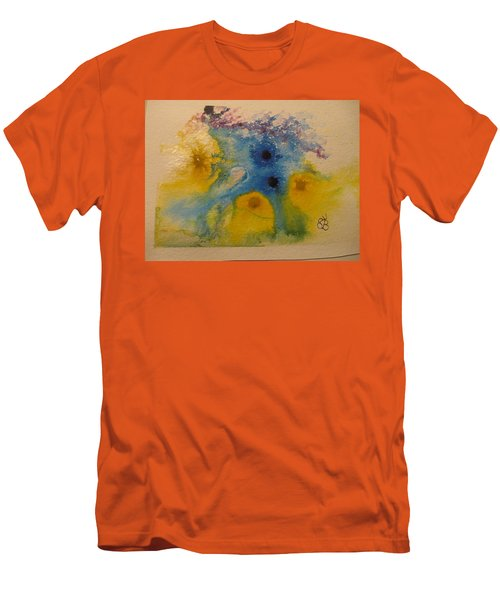 Colourful Men's T-Shirt (Athletic Fit)