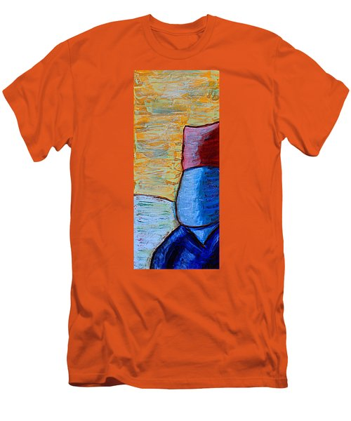 Come Outside, It's Only A Little Cold. Men's T-Shirt (Athletic Fit)