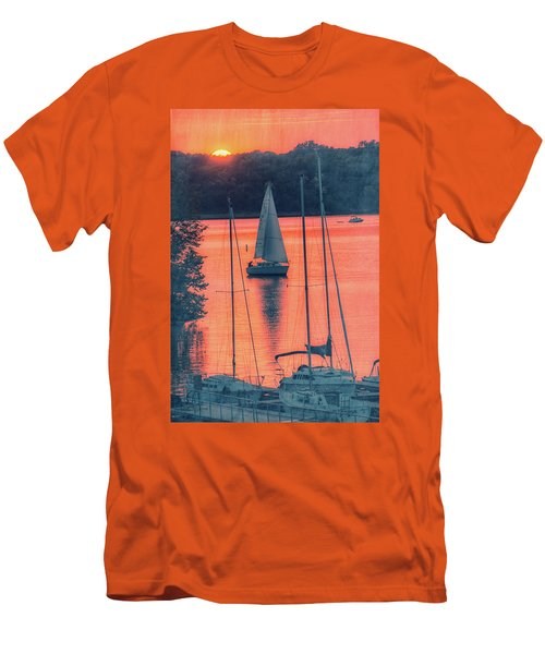 Come Sail Away Men's T-Shirt (Athletic Fit)