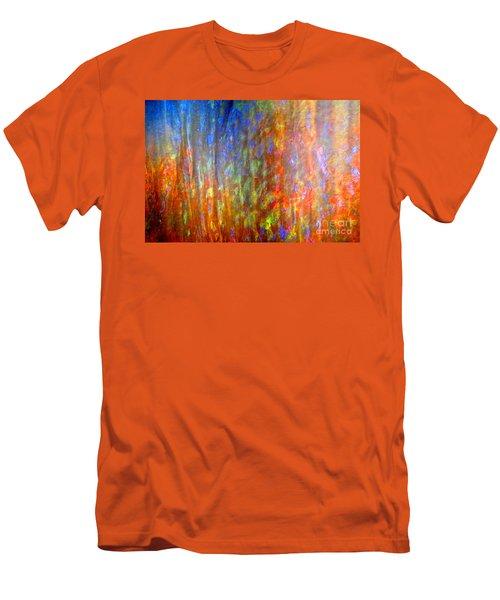 Confident Drapery Men's T-Shirt (Athletic Fit)