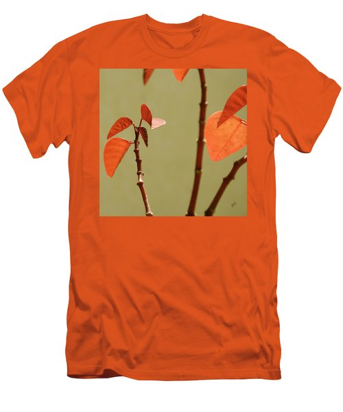 Men's T-Shirt (Slim Fit) featuring the photograph Copper Plant 2 by Ben and Raisa Gertsberg