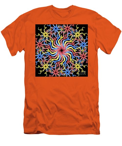 Copperhead Mandala Men's T-Shirt (Athletic Fit)
