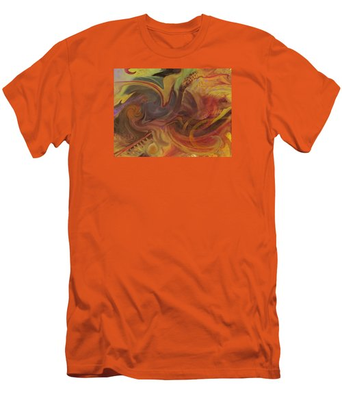 Coral Sea Men's T-Shirt (Slim Fit) by David Klaboe