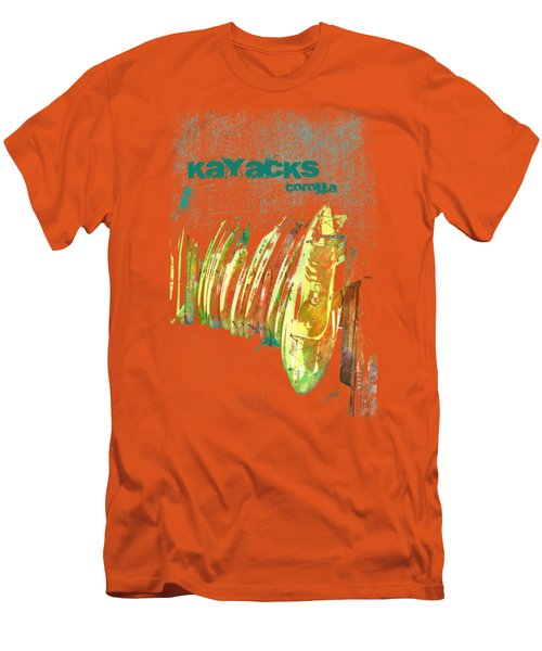 Corolla Kayacks Men's T-Shirt (Slim Fit) by Paulette B Wright