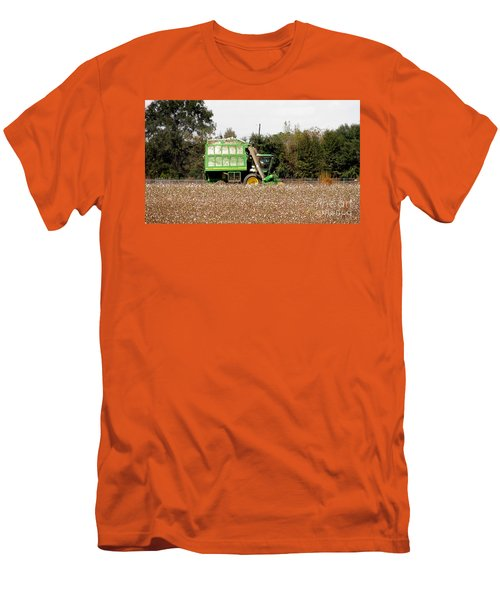 Cotton Picker Men's T-Shirt (Slim Fit) by Donna Brown