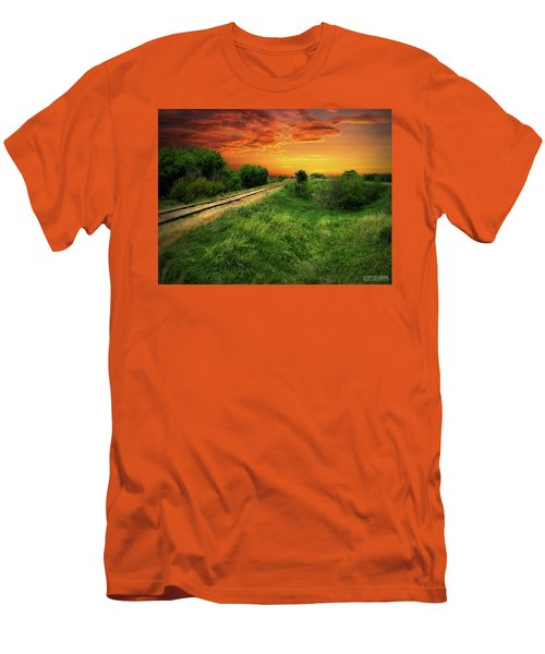 Country Tracks 2 Men's T-Shirt (Athletic Fit)