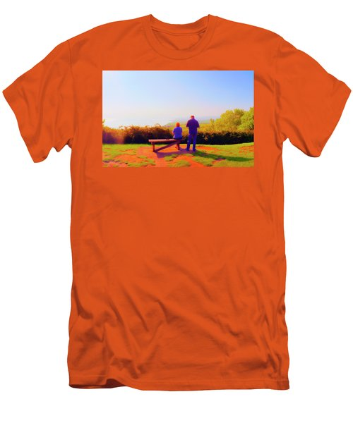 Couple Views Men's T-Shirt (Athletic Fit)