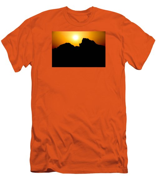 Men's T-Shirt (Slim Fit) featuring the photograph Cradle Your Departing by Jez C Self