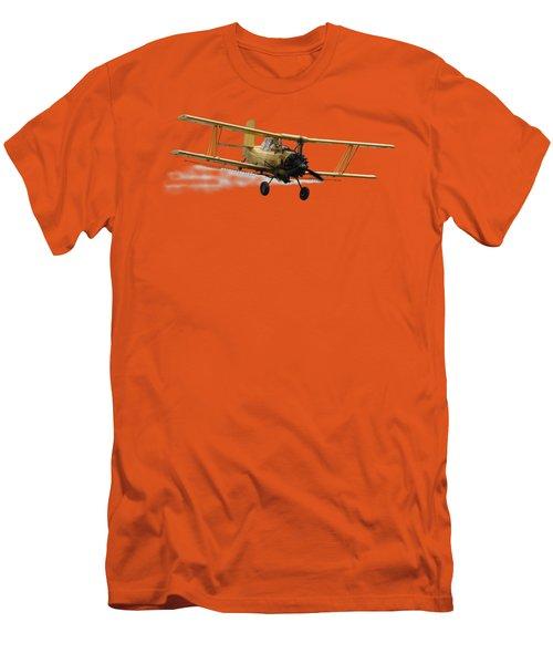 Crop Duster T Men's T-Shirt (Slim Fit) by David Andersen