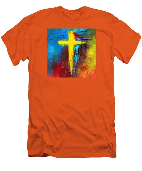 Cross 2 Men's T-Shirt (Slim Fit) by Kume Bryant