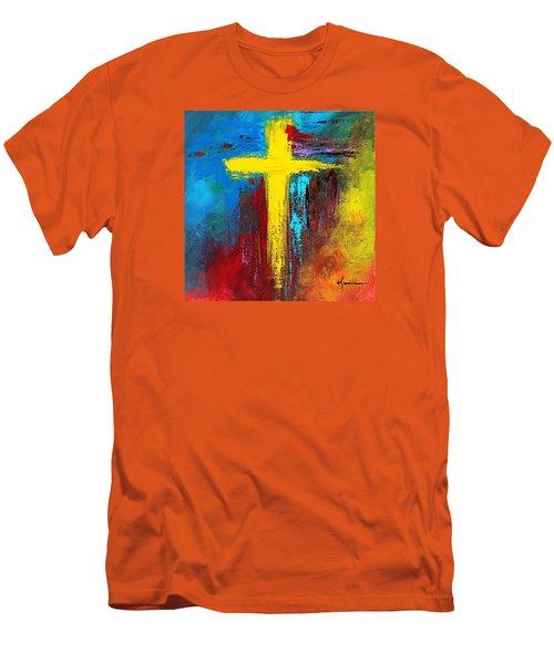 Cross 2 Men's T-Shirt (Athletic Fit)