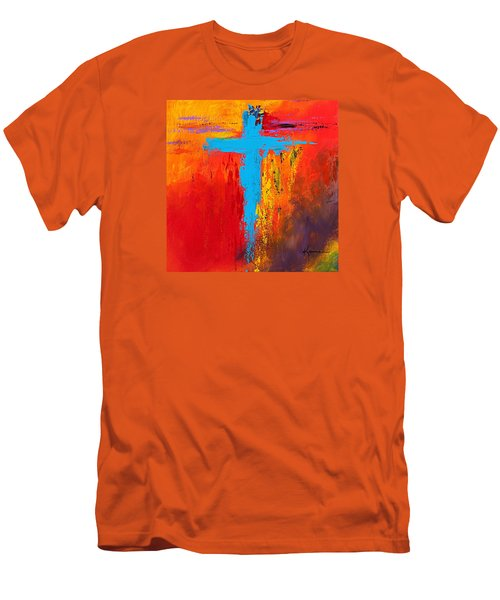 Cross 3 Men's T-Shirt (Slim Fit) by Kume Bryant