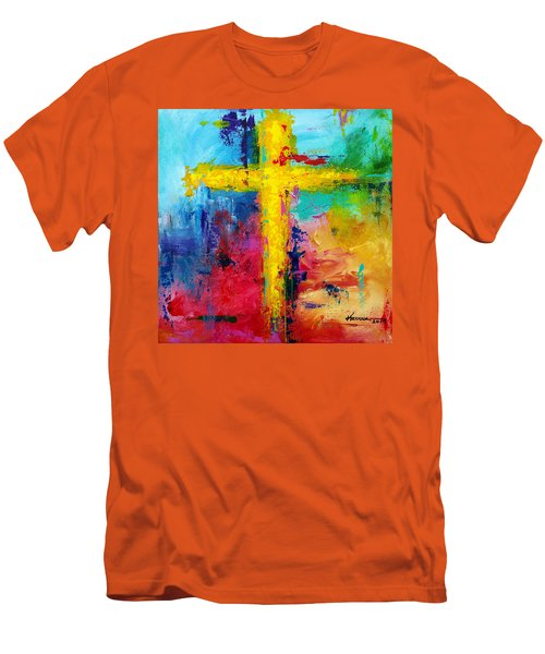 Cross 7 Men's T-Shirt (Athletic Fit)