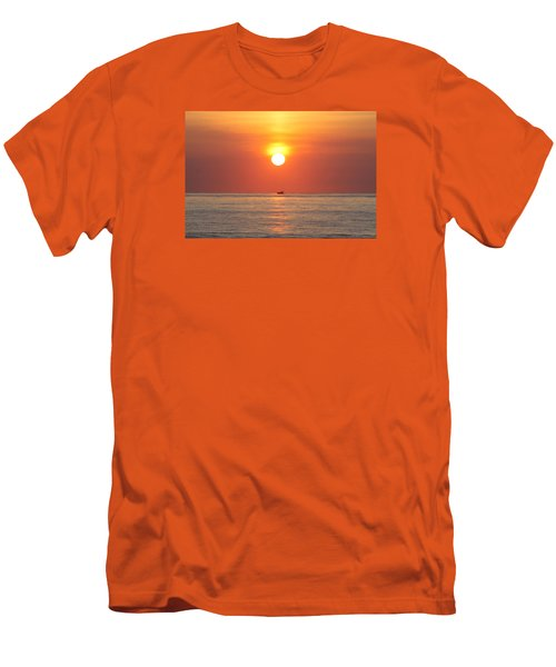 Men's T-Shirt (Slim Fit) featuring the photograph Cruising On The Sunshine by Robert Banach