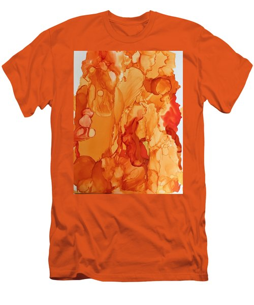 Orange Crush Men's T-Shirt (Athletic Fit)