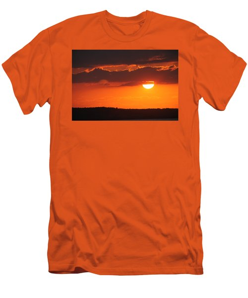 Cuban Sunset Men's T-Shirt (Athletic Fit)