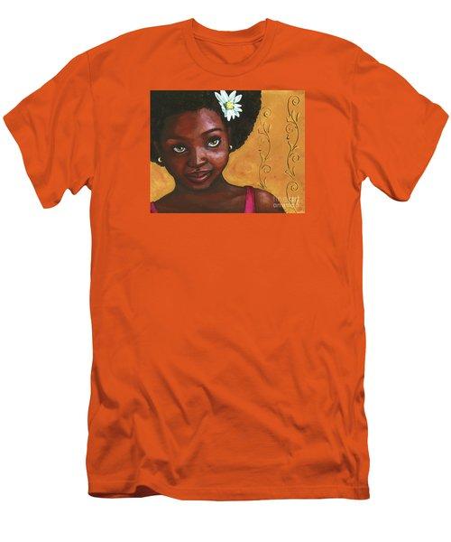 Cutie Pie Men's T-Shirt (Slim Fit) by Alga Washington