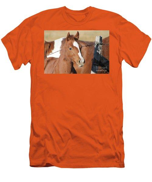 Daddys Home Men's T-Shirt (Slim Fit) by Pamela Walrath