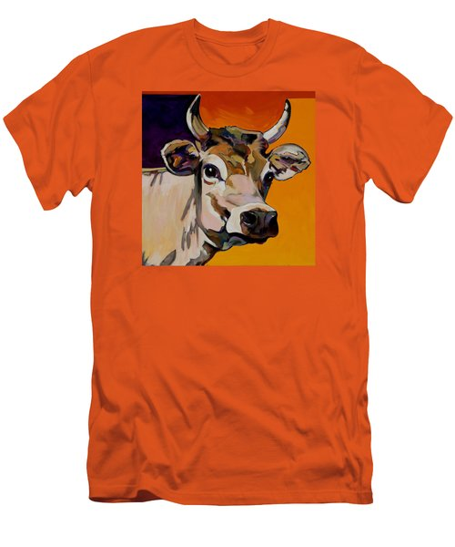 Men's T-Shirt (Slim Fit) featuring the painting Daisy by Bob Coonts