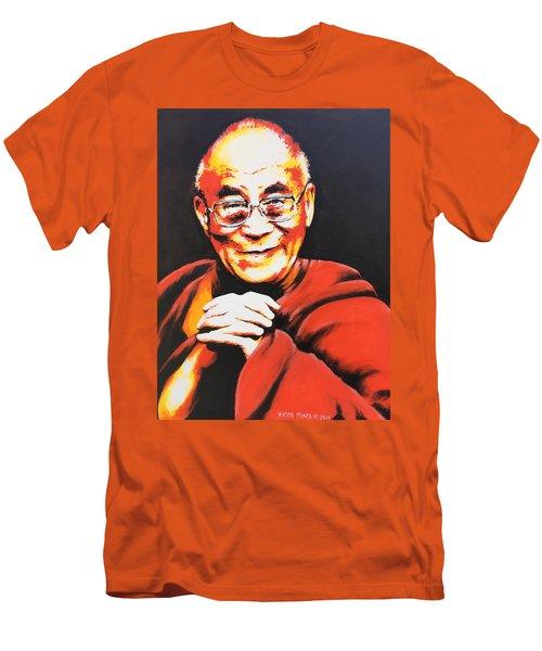 Dalai Lama Men's T-Shirt (Athletic Fit)