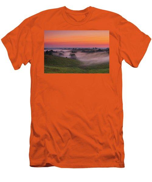 Dawn In Kentucky Men's T-Shirt (Slim Fit) by Ulrich Burkhalter