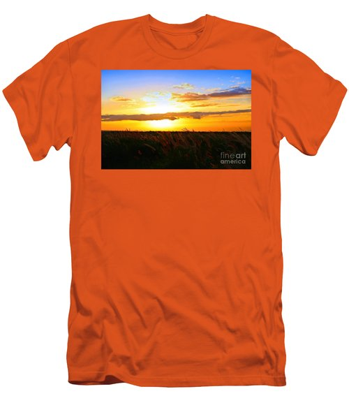 Men's T-Shirt (Slim Fit) featuring the photograph Day's End by DJ Florek