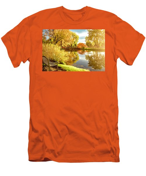Men's T-Shirt (Slim Fit) featuring the photograph Days Last Rays by Kristal Kraft