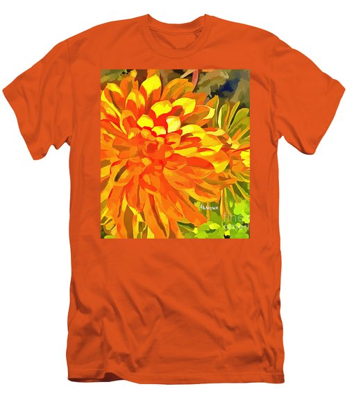 Dazzling Succulent Men's T-Shirt (Athletic Fit)